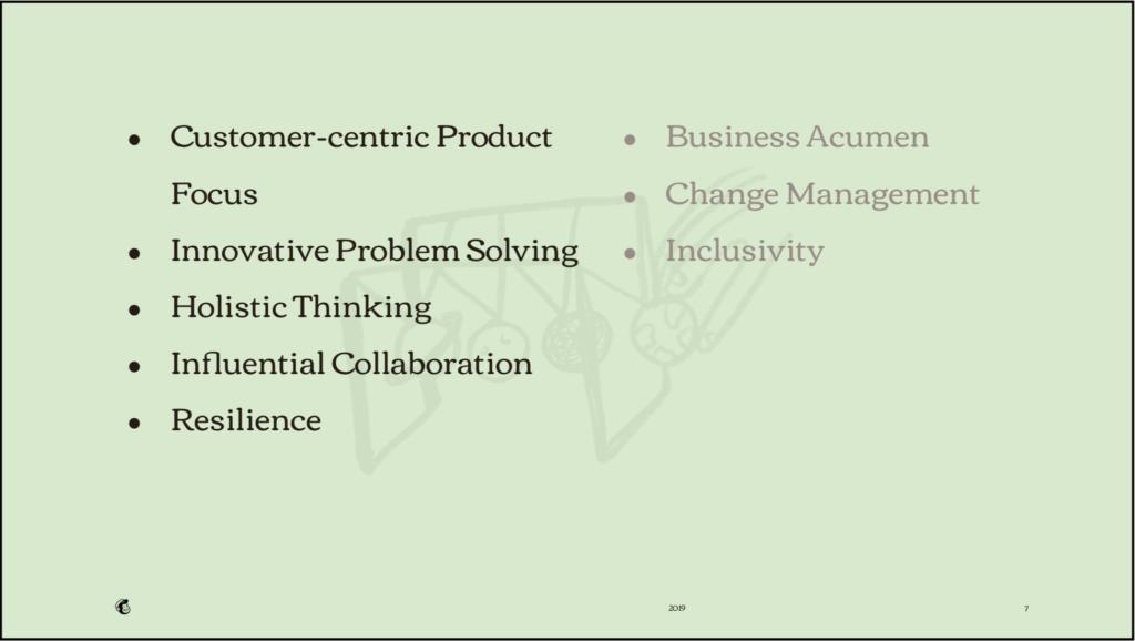 skills description inspired business media