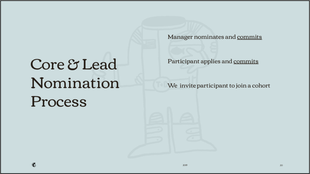 core and lead nomination process